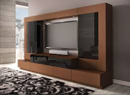 Tv Cabinet Designs Catalogue Modern White Wall Led Cabinet Design That Can Be Decor With Black