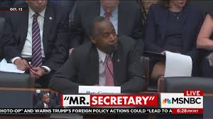 Pov Sph - ben carson refuses to answer questions on hud budget cuts