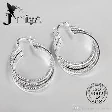 silver earring 2018 2016 new design 925 sterling silver party silver earring for