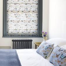 Roman Blind Bugs And Butterflies Roman Blind U2013 Ella Doran