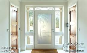 Frosted Glass Exterior Door Frosted Glass Exterior Door Exterior Grey Stained Fiber Modern