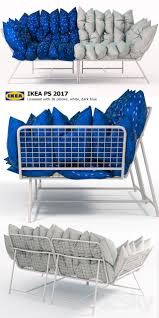 Ikea Ps 2017 Storage Unit 3d Models Sofa Sofa And Armchair Ikea Ps 2017 36 Loveseat With