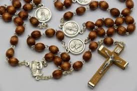 wooden rosary bernadette wooden rosary rosary chaplets