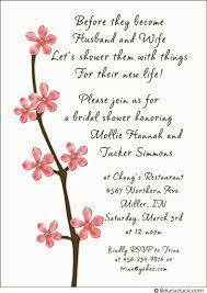 Wedding Card Wordings For Friends Bridal Shower Invitation Poems Template Best Template Collection