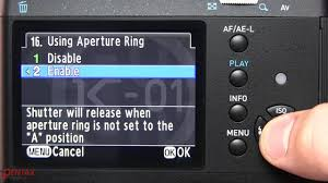 how to use a manual lens m k or m42 on a pentax dslr youtube