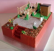 40 best gardening cakes images on pinterest garden cakes cake