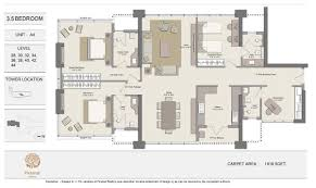 Floor Plan Flat by Piramal Aranya Mumbai Piramal Aranya Byculla Piramal Realty