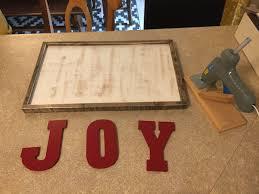 diy joy christmas sign birkley lane interiors all things home