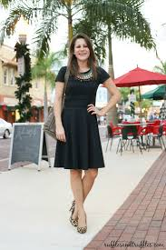 dress with necklace images Simple black dress with a statement necklace jpg