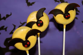Halloween Decorations Cakes Tutorial No Bake Spooky Halloween Bat Oreo Pops U2022 Cakejournal Com