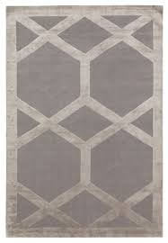 Modern Silk Rugs Cora By Suzanne Sharp Wool And Silk Contemporary Knotted