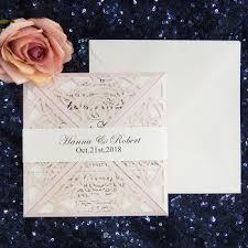 wedding invitations philippines hot sale unique blush laser cut wedding invitations philippines