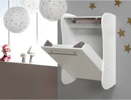 Change Table Accessories Wall Mounted Baby Change Table White