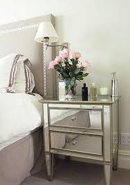 Silver Mirrored Bedroom Furniture by Best 25 Mirrored Side Tables Ideas On Pinterest Mirror