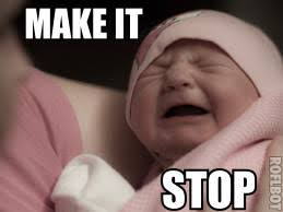 Crying Baby Meme - your post makes babies cry reaction images know your meme