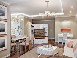 cucina e sala da pranzo salone cucina e sala da pranzo moderni illustrazione di stock