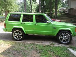 gecko green jeep lashaunroman 1990 jeep cherokee specs photos modification info