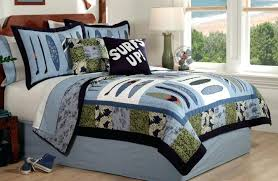 Twin Duvet Covers Boys Duvet Covers Twin Surf Wave Quilt Boys Bedding Set Queen Full Or