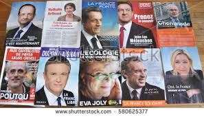 france april 2012 french presidential election stock photo