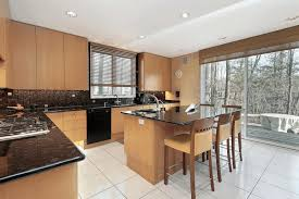 Yellow Kitchens With White Cabinets - kitchen colors with light wood cabinets small glass breakfast bar