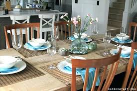 kitchen table setting ideas dinner table decorations dinner table decorations table