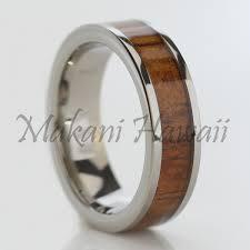 wood inlay wedding band wood inlay wedding bands idea weddingbee