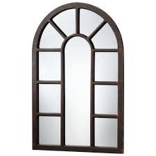 Large Arched Wall Mirror Lancaster Industrial Loft Large 48