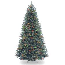 national tree company 7 5 ft north valley blue spruce artificial