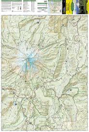 Ou Map Mount Hood Wilderness Mount Hood National Forest National