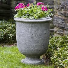 Stone Urn Planter by Urn Planters Cast Stone Urn Planters