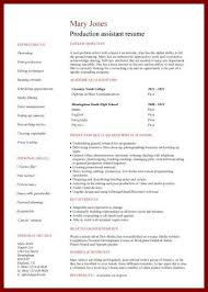 Resume Template No Work Experience 14 Student Resume Sample No Experience Sendletters Info