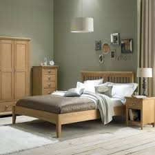 Oak Bed Solid Oak Bedroom Furniture Walnut Painted And Oak Bedroom