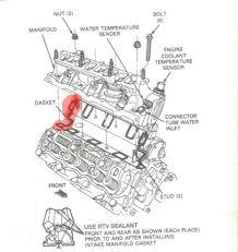 2003 ford explorer intake manifold replacing lower intake manifold gasket ford explorer and ford