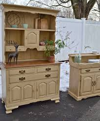 Refurbished Bathroom Vanity by Heir And Space A Matching Hutch And Dry Sink