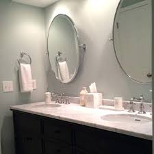 Oval Mirrors For Bathroom Oval Mirror Bathroom Higrand Co