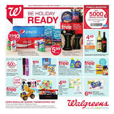 walgreens thanksgiving 2017 ads deals and sales