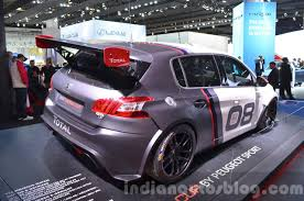 Peugeot 308 Racing Cup Rear Three Quarters At Iaa 2015 Indian