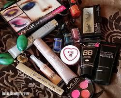 Makeup Mua mua makeup products haul indian forever