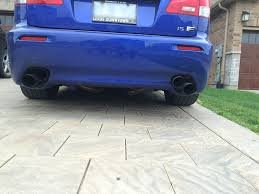 lexus toronto downtown can toronto fs lexus isf iss forged des full cat back exhaust