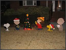 peanuts characters yard decorations home design