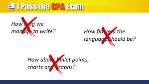 Answering The Essay Short Answer Exam Question Quality Writing by Cpa Exam Written Communication Tips 7 Steps Toward Success