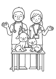 community helpers coloring sheets coloring pages for kids on