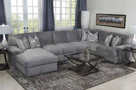 Grey Livingroom by Key West Sectional Living Room In Gray Mor Furniture For Less
