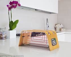 Transparent Toaster For Sale See Through Eco Toaster Helps You Keep Track Of When Your