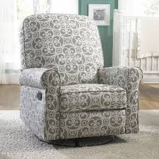 Swivel Recliner Armchair Ashewick Swivel Glider Recliner Chair