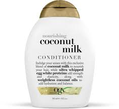 Shoo Ogx ogx nourishing coconut milk conditioner conditioning