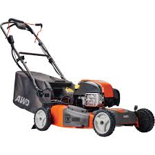 husqvarna all wheel drive self propelled lawn mower u2014 163cc briggs