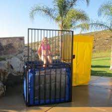 dunking booth rentals dunk tank rentals party equipment rentals paso robles ca