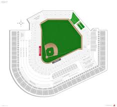 Stadium Floor Plan by Cleveland Indians Seating Guide Progressive Field