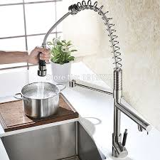 Brushed Nickel Faucet Kitchen by Online Buy Wholesale Stainless Kitchen Faucet From China Stainless